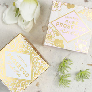 Prosecco And Rosé Prosecco Bath Salts Duo - gift sets