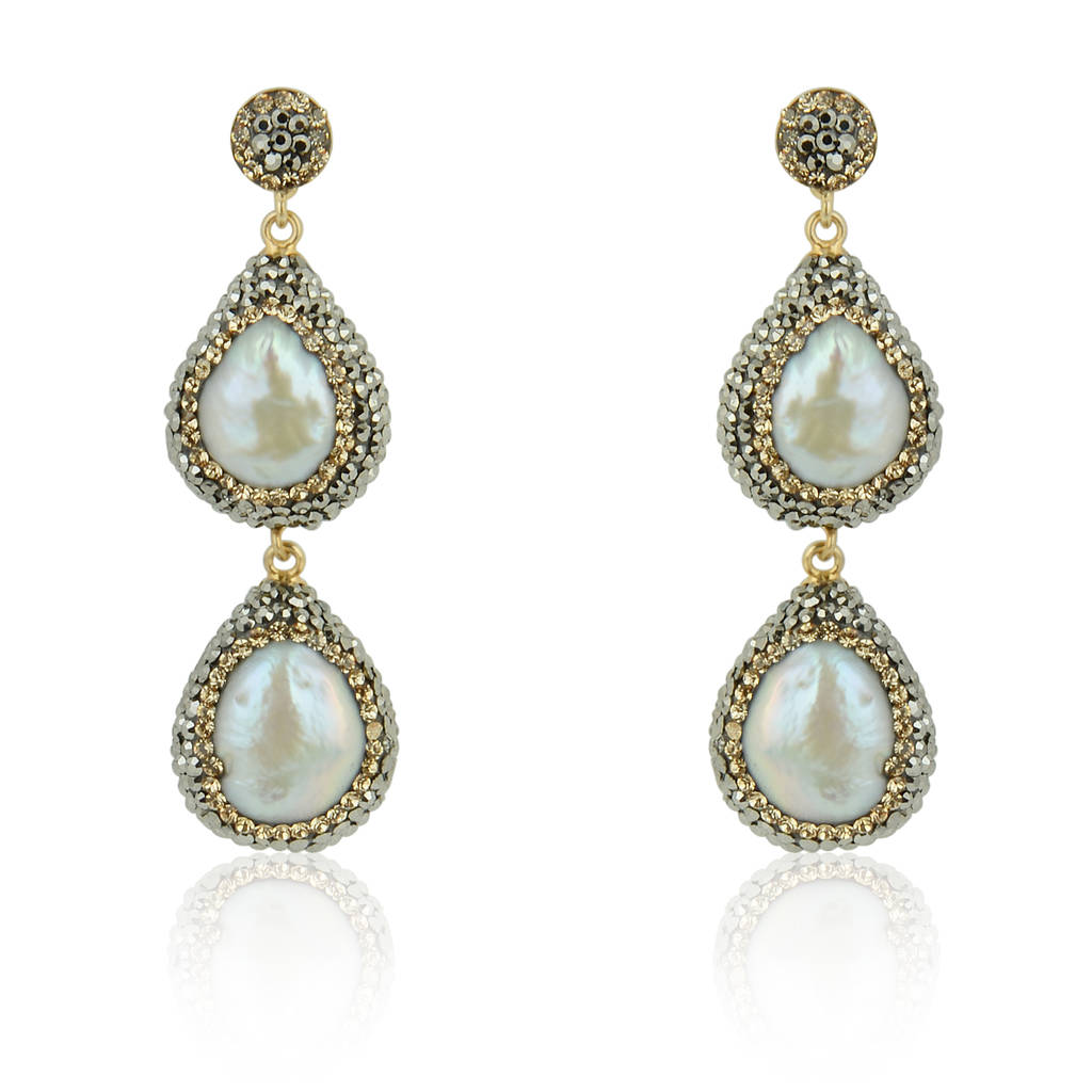 flawless earrings sea keshi aaa south baroque alternative pearl pear p white htm stud views