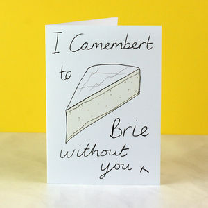 Cheesy Valentine Or Anniversary Card - funny cards