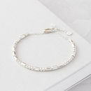 Personalised Love Morse Code Bracelet
