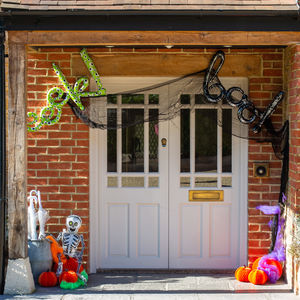 Ten Piece Halloween Front Door Pack - room decorations