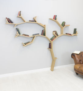 Beech Tree Bookcase Shelf - shelves