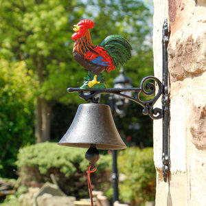 Rooster Doorbell - art & decorations