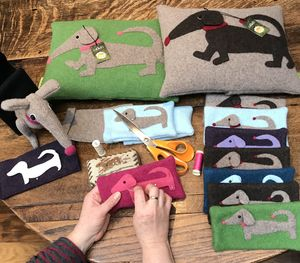 Dachshund Glasses Cases Or Phone Cover For Dog Lovers
