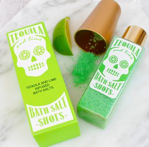 Tequila And Lime Bath Salt Shots - bathroom