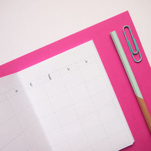 Undated Monthly Pocket Planner