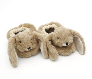 Bunny Baby Slippers, Gift Boxed - children's shoes, sandals & boots