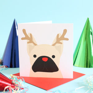 Christmas French Bulldog Cards - cards & wrap