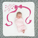 Personalised Precious Gift Baby Blanket