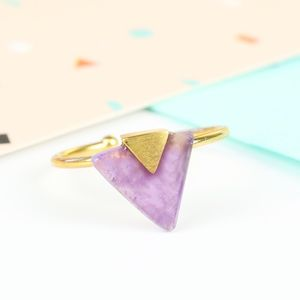 Semi Precious Stone Ring - women's jewellery