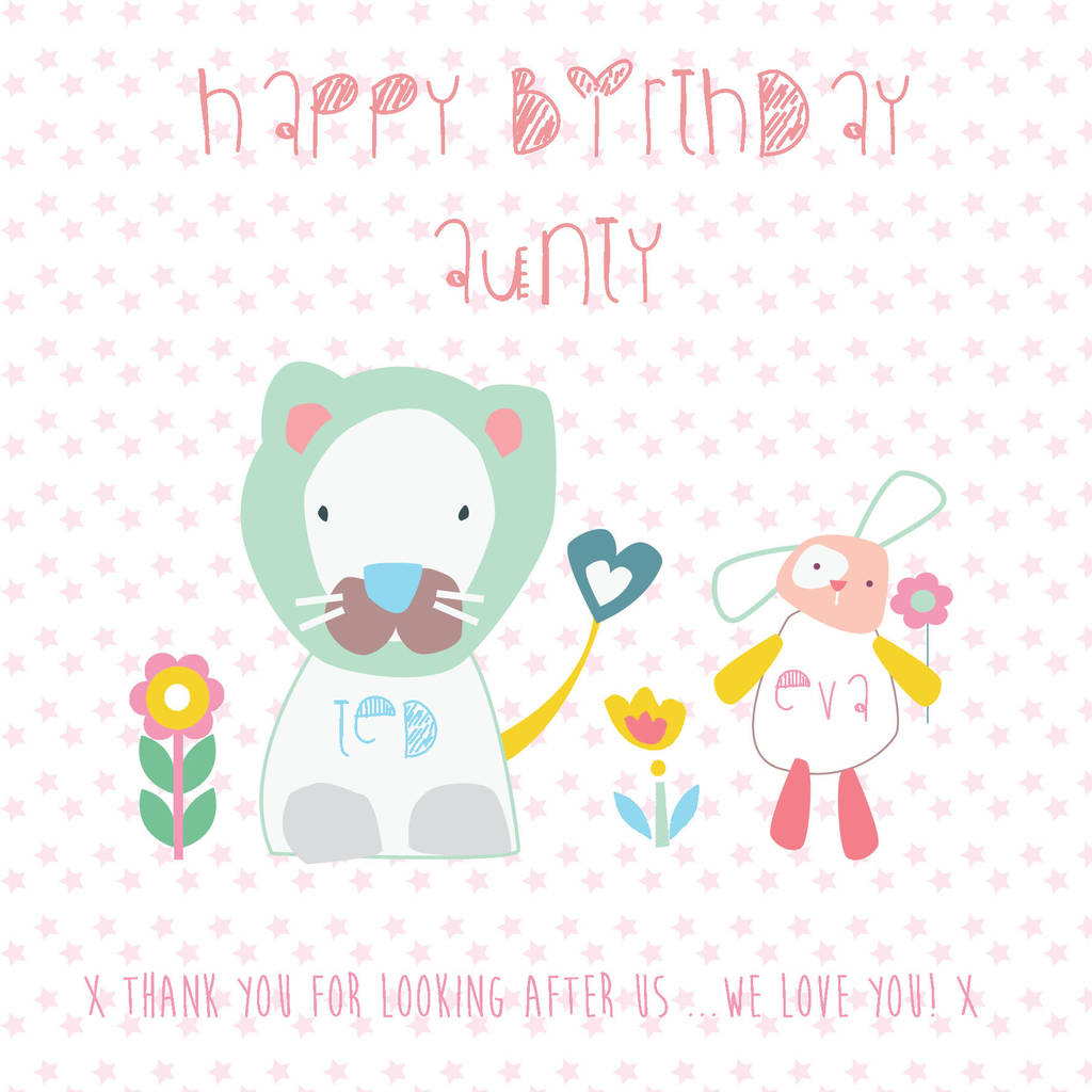 Personalised family birthday greeting card by buttongirl designs personalised family birthday greeting card m4hsunfo