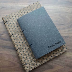 Leather Notebook - writing & drawing