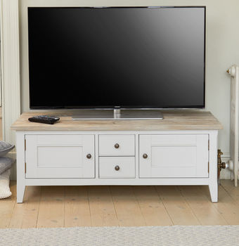Ridley Grey Widescreen Television Media Unit