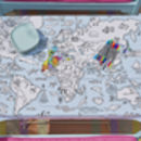colouring activity fun party tablecloth