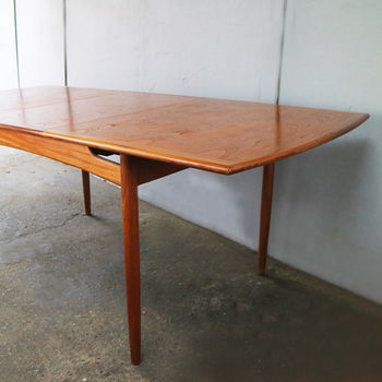 1960's Extendable Dining Table By G Plan