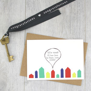 Change Of Address Note Cards