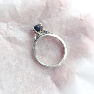 Lux Solitaire Ring