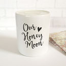 'Our Honeymoon' Money Bank