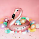 Rose Gold Inflatable Flamingo Float Decoration