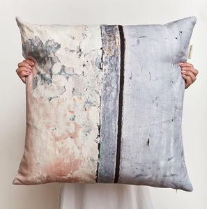 *New* Coastal Inspired Large Linen Cushion - bedroom