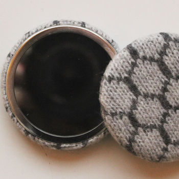 Knitted Pocket Mirror