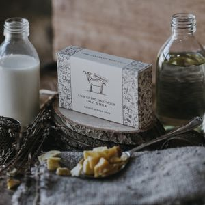 Unscented Dartmoor Goat's Milk Soap - bath & body