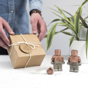 Robot Copper Concrete Family Set Variations Available