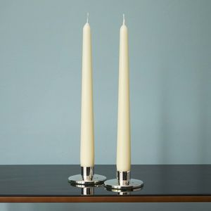Modern Silver Candlestick - candles & home fragrance