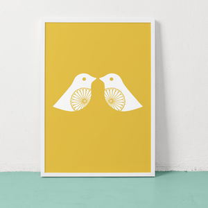 Lovey Dovey Print - prints under £25