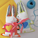 Love Bunny Soft Toy