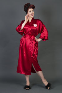Personalised Heart Satin Robe - what's new