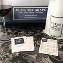 'Guess The Grape' Red Wine Edition One Bottle