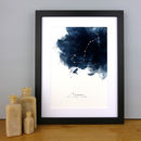 Constellations Personalised Zodiac Star Sign Print