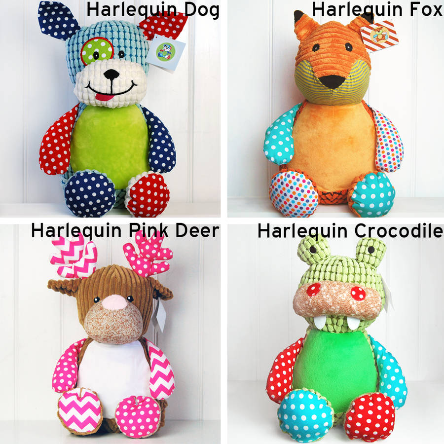 6d98dcf154 personalised 'i belong to' soft toy by simply colors ...