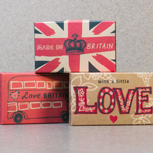 Love Britain 100g Soap Bar Trio