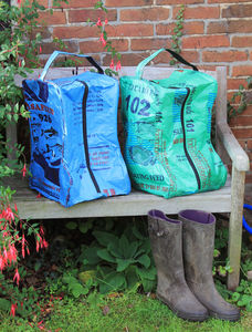 Recycled Welly Boot Bag