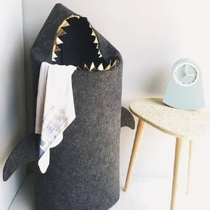 Shark Laundry Bag - children's room accessories