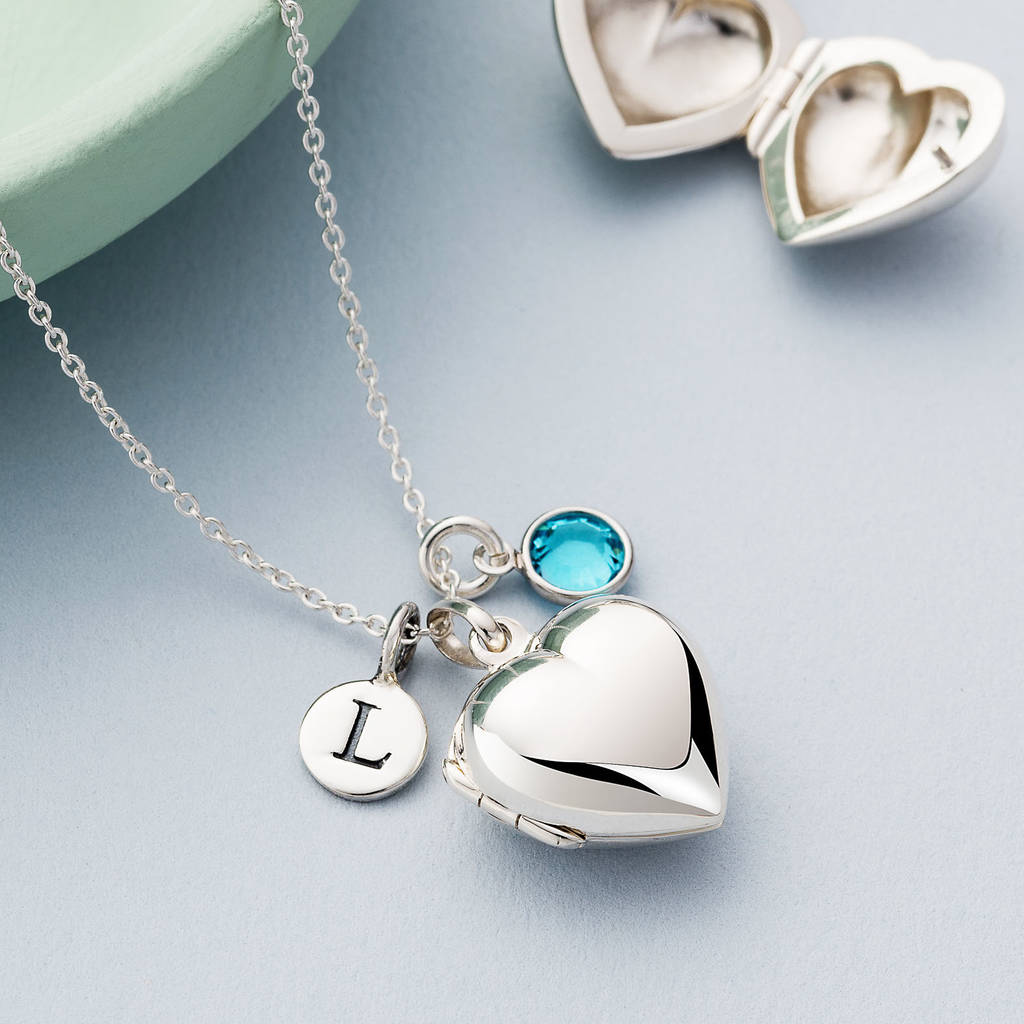 large sterling heart engravable lockets locket plain silver