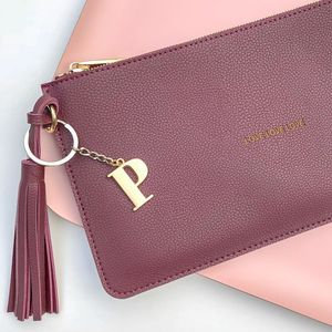 Personalised 'Love Love Love' Mulberry Tassel Bag - view all new
