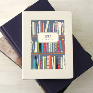 Personalised Books Notebook - for writers & book-lovers