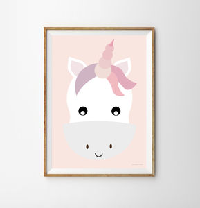 Unicorn Children's Print - new in prints & art