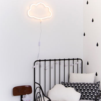 Neon Style Cloud Wall Light