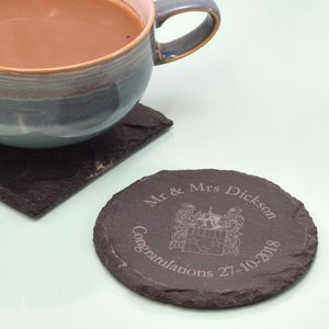 Coaster With Your Family Crest