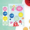 Personalised Fairy Invitations With Sticker Activity