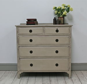Distressed Vintage Chest Of Drawers - what's new