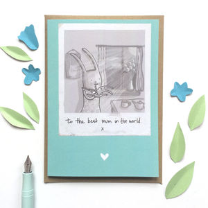 'Best Mum In The World' Greeting Card