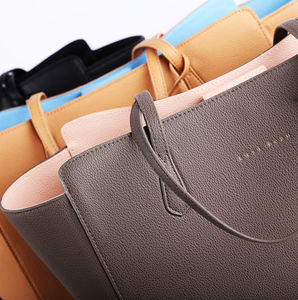 Mae Leather Tote Bag