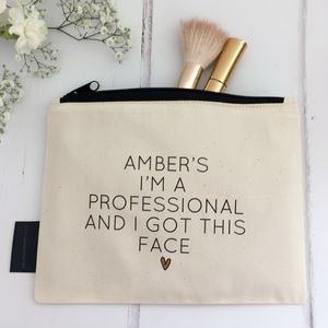 'Professional Face' Make Up Bag - make-up & wash bags