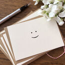 'Smile' Notecards Six Pack