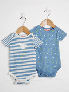 Boys Two Pack Bodysuit